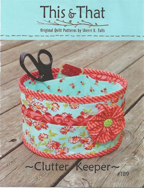 pattern sewing basket clutter sewing patterns and sewing baskets on pinterest
