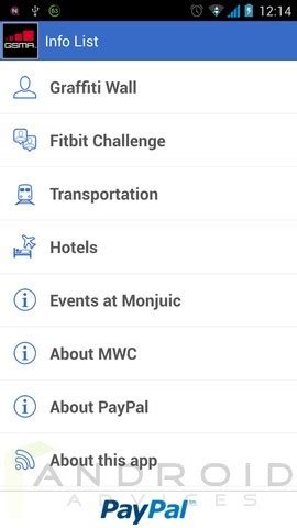must download application for mwc 2014 visitors gsma