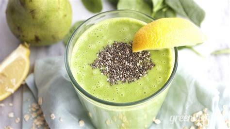 Chia Seed Detox Smoothie by Lemon Chia Seed Muffin Greenblender