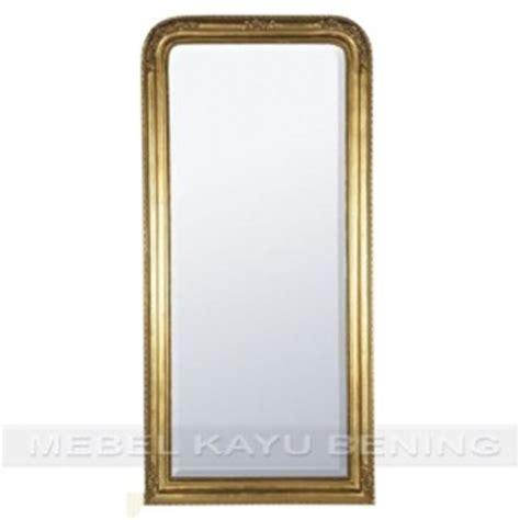 60 X 120 X 5 Cm Pajangan Dinding Pigura Rotan Panel Kayu cermin pigura kaca hiasan dinding ukiran jepara fryda
