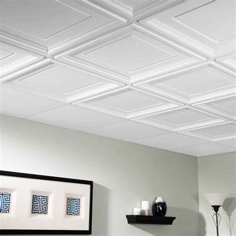 coffered ceiling tile ceiling photo gallery genesis white
