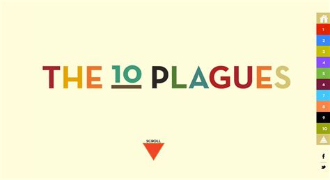 informational website templates the 10 plagues one page website award