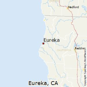 where is eureka california on a map best places to live in eureka california
