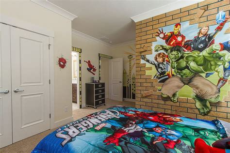 avengers bedroom theme 25 vivacious kids rooms with brick walls full of personality