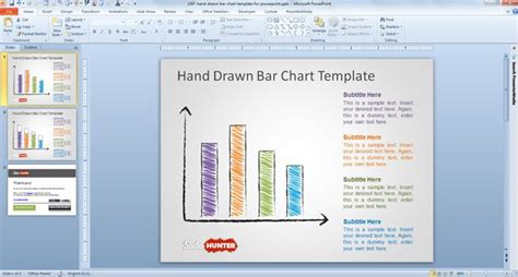 template ppt 2007 free free bar chart template for powerpoint free