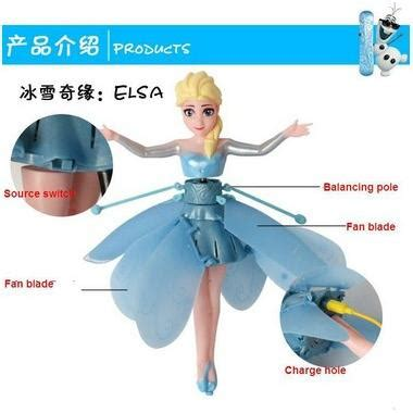 Flying Frozen Elsa Terbang elsa frozen flying dolls boneka terbang elevenia
