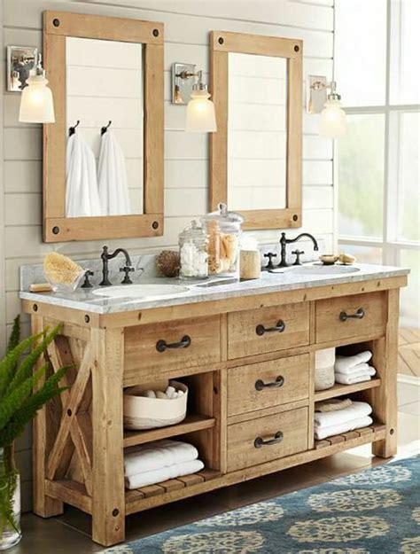 badezimmer vanity rustikal rustikale m 246 bel im badezimmer mission m 246 glich