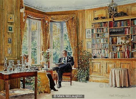 Home Interior Painting the library sw5 watercolour