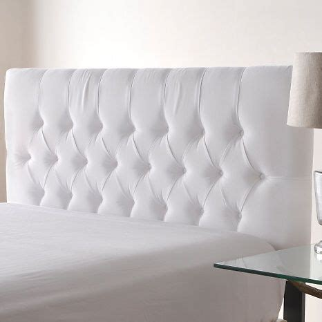 17 best ideas about white tufted headboards on