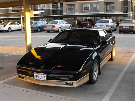87 pontiac trans am 87 trans am awesome cars