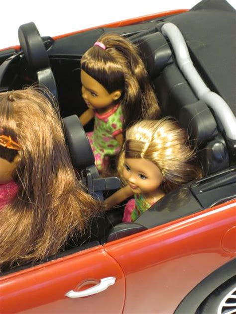 barbie cars with back seats a review of ken s quot my cool mini quot mini cooper car the toy