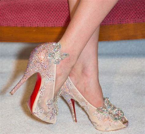 louboutin glass slipper 13 best images about louboutin cinderella on