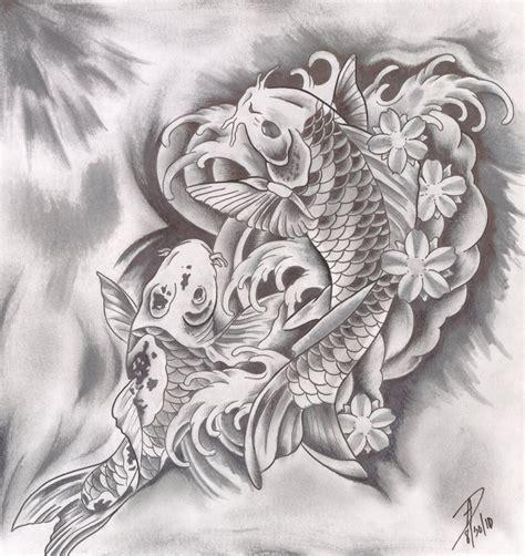 tattoo two koi fish two koi fish by ladygreytattoo on deviantart