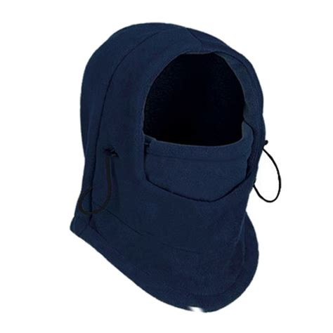 Balaclava Polar Masker Thermal 6 In 1 Multifungsi 6in1 thermal fleece mask balaclava neck warmer