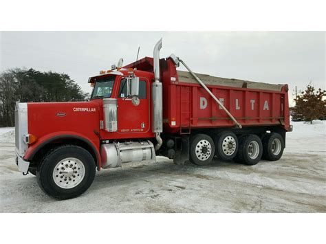 peterbilt dump truck peterbilt 379 dump trucks for sale 106 used trucks from