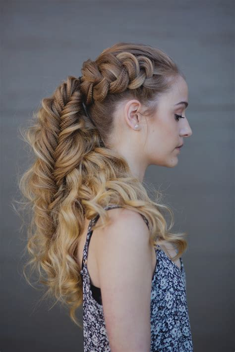 vikings hairstyles how to finished viking braid we this moncheribridals com