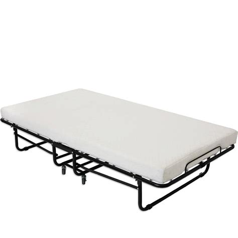 folding bed amazon amazon com milliard premium folding bed with memory foam