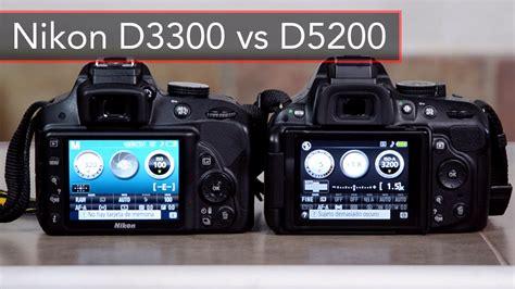 nikon d5200 nikon d3300 vs nikon d5200 comparativa en espa 241 ol