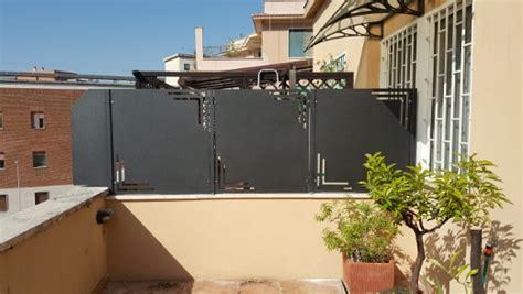 recinzione terrazzo recinzione per terrazzo
