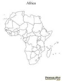 Printable Map Of Africa by Pics Photos Blank Maps Africa
