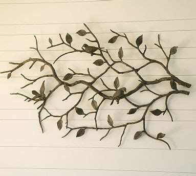 tree of life wall art decoration branch shells home metal wall art save or splurge