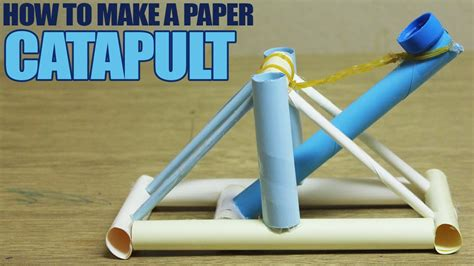 How To Make Designs Out Of Paper - how to make a paper catapult