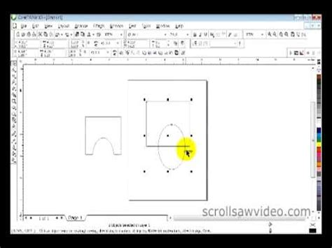 how to join to lines in coreldraw x6 how to corel draw tutorial trim part 1 youtube