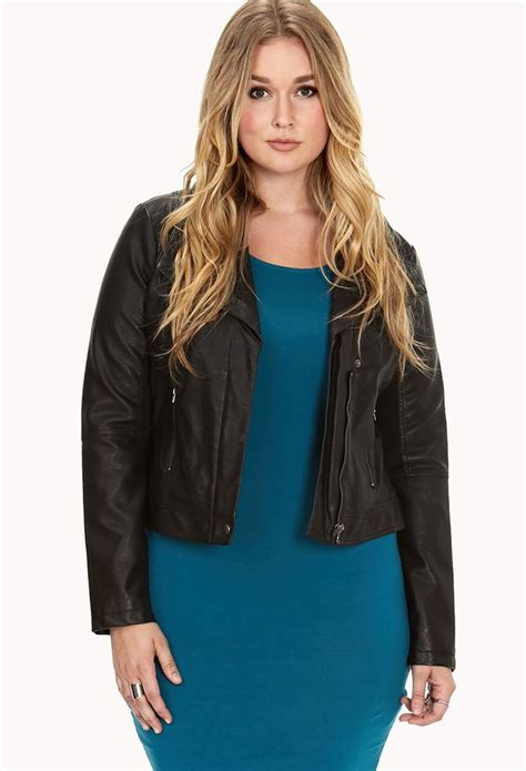 Found A City Chic Leather Coat by Discover And Save Creative Ideas