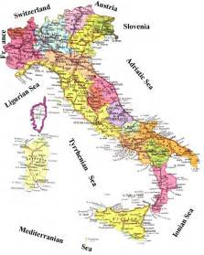 Detailed Map Of Italy by Pics Photos Administrative Map Of Italy Italy Detailed