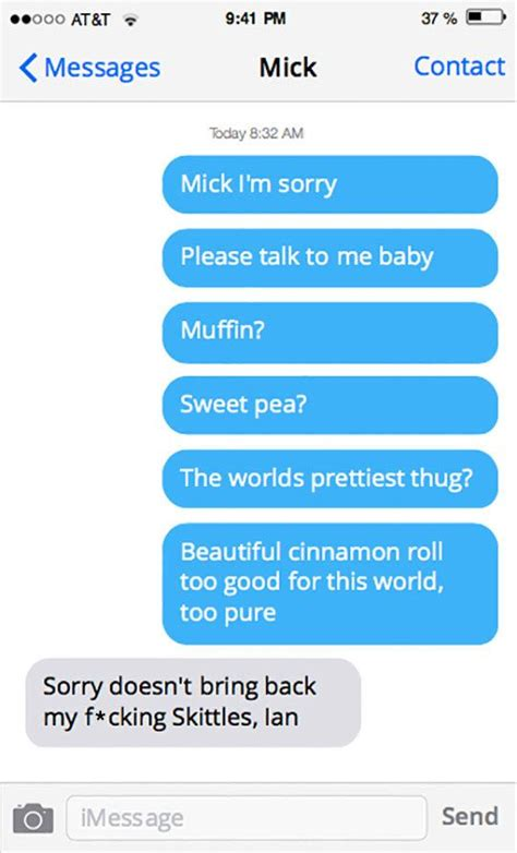 The Recap Apology Not Accepted by 25 Best Ideas About Texts On