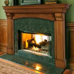 Pearl mantels blue ridge arched fireplace surround fireplace mantels