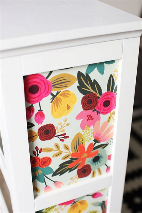 How To Decoupage Furniture With Paper - diy this me cabinet gets made with