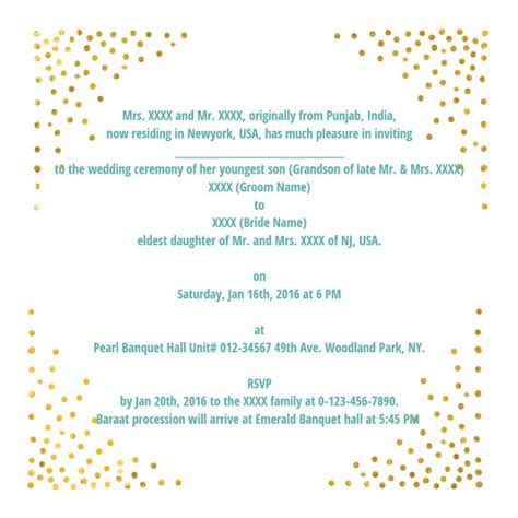 Wordings For Wedding Cards Indian