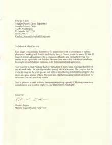 Thank You Letter For Reference Sle Eagle Scout Recommendation Letter 18 Images Sle Thank