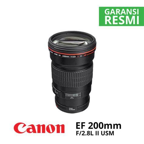 Lensa Canon Ef 200mm F 2 8l Ii Usm canon ef 200mm f 2 8l ii usm harga dan spesifikasi