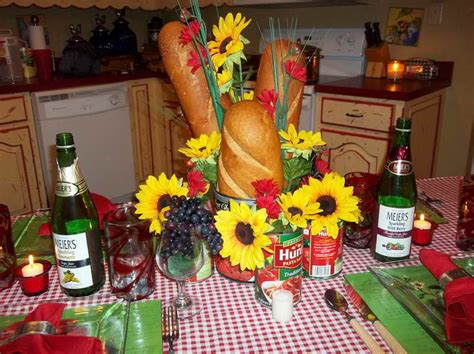 Italian Table Decor Italian Table Setting Ideas With The