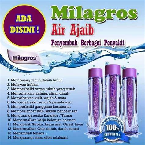 Milagros Air Kesehatan Untuk Terapi Penyembuhan Penyakit milagros air alkali milagros