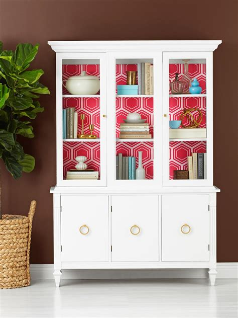 Decorating China Cabinet by Update A Used China Cabinet Hgtv