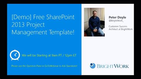 demo templates demo free sharepoint 2013 project management template on