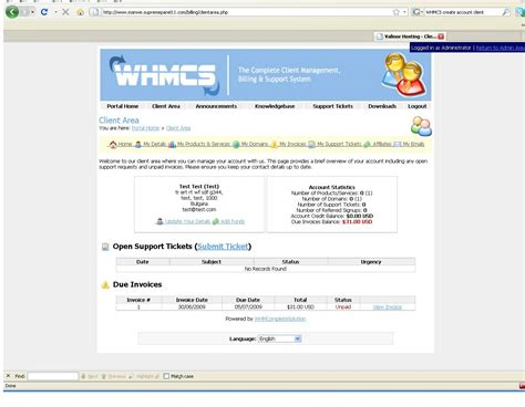 whmcs invoice template whmcs pdf invoice template hardhost info