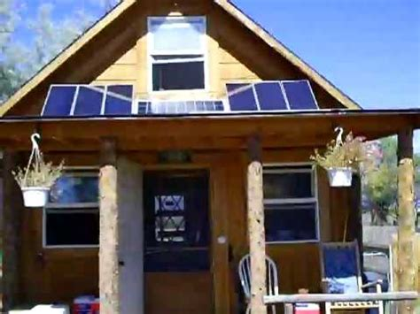 14x14 Solar Cabin by How To Build A 14x14 Solar Cabin Doovi