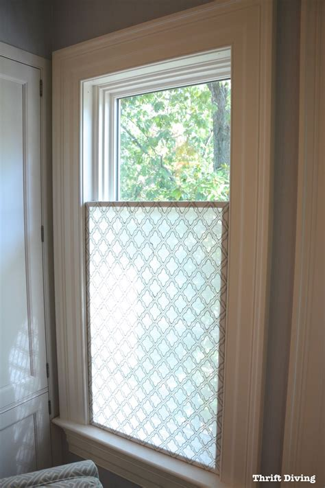 bathroom window glass privacy how to make a pretty diy window privacy screen bathroom