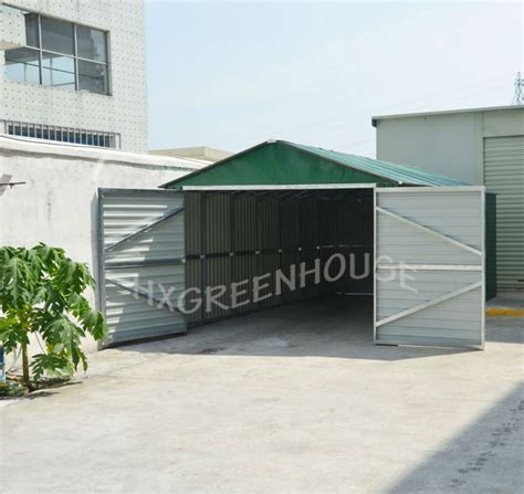 Used Car Port by New Style Metal Prefab Used Carport For Sale Hx81133a