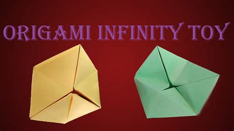 How To Make A Flexagon Out Of Paper - how to make origami infinity flexagon diy paper endless