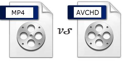 avchd vs mp4: what is the difference between avchd and mp4