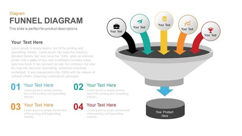 funnel diagram powerpoint template funnel diagram powerpoint and keynote template slidebazaar