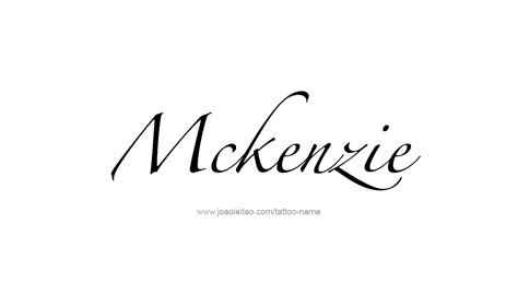 mackenzie tattoo designs free mackenzie the name coloring pages