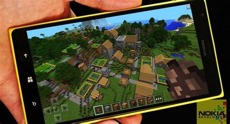mod game windows phone minecraft pocket edition now available for windows phone 8 1