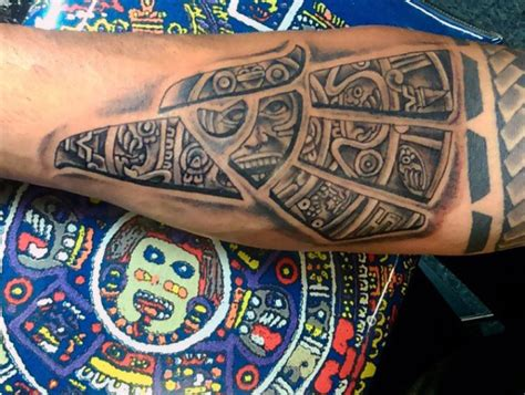 aztec tribal tattoos for men 80 aztec tattoos for ancient tribal and warrior designs