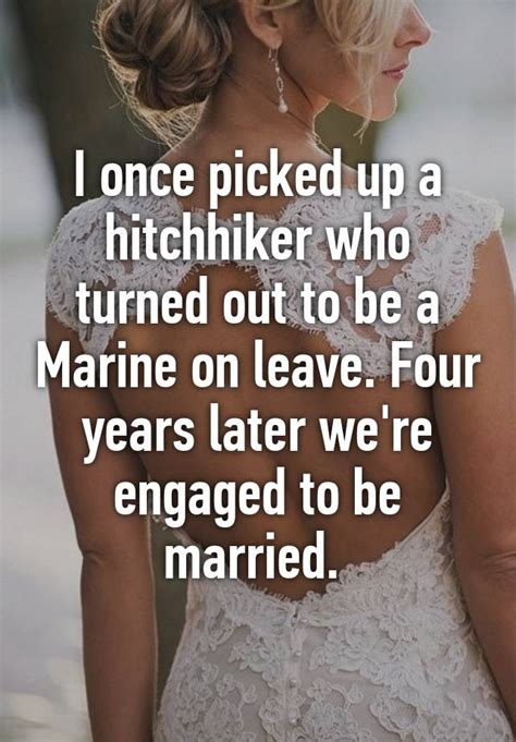 arnold 5 years later we re still married i once picked up a hitchhiker who turned out to be a
